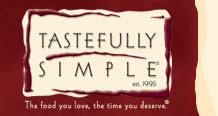 Click here for the TASTEFULLY SIMPLE website